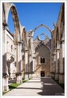 Монастырь Карму, частично восстановленный после землетрясения 1755 года.