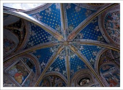 Звездный потолок в часовне Capilla de San Blas (14-й век). Толедский собор.