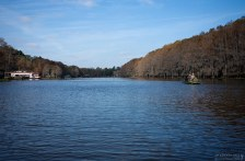 Главная водная артерия озера Каддо.
