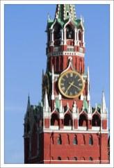 Куранты на Спасской башне.