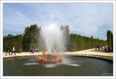 """Фонтан """"Весна"""" - один из четырех версальских фонтанов, олицетворяющих собой времена года."""