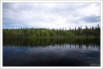 Начало Малого маршрута по Соловецким озерам.