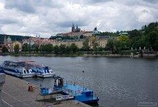 Пристань, откуда отправляются экскурсии по Влтаве.
