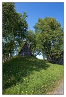 На окраине поселка Соловецкий.