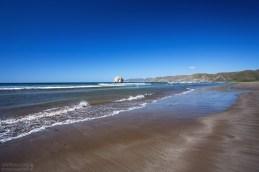 Прилив на пляже Naranjo.