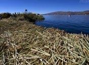 Каждый остров состоит из многочисленных слоев высушенного тростника, нижние из которых постепенно вымываются течением, а верхние постоянно обновляются.
