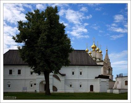 Церковь Богоявления в Рязанском Кремле.