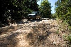 Нелегкая дорога к пляжу Naranjo.