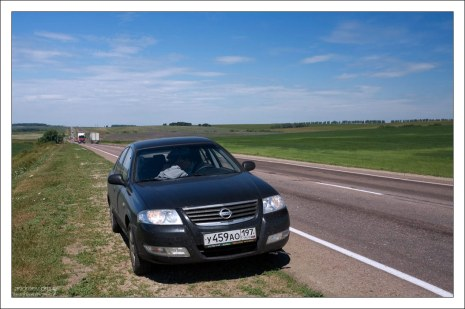 Трасса M6 в Волгоград.