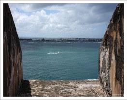 Одна из огневых точек форта Эль Морро.