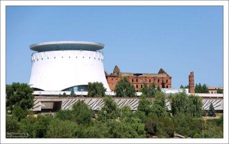 Мельница Гергардта - разрушенное здание мельницы, ставшее памятником Сталинградской битвы.