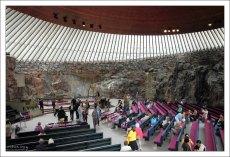 Темппелиаукио - церковь-в-скале.