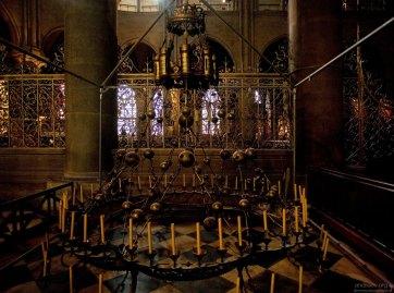 Паникадило в Соборе Парижской Богоматери.