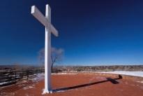 Cross of the Martyrs - Крест мучеников. Воздвигнут в честь францисканских монахов, убитых во время восстания ряда племён пуэбло против испанских колонизаторов (17-й век).