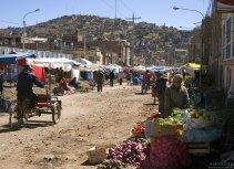 Воскресный рынок в Пуно.