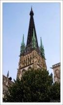 Шпиль собора Руанской Богоматери.