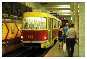 «Комсомольская» - станция Волгоградского метротрама.