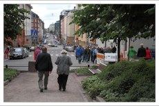 На бульваре Fredrikinkatu.