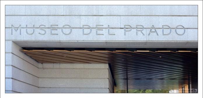 Вход в Национальный музей Прадо (исп. Museo Nacional del Prado).