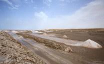 Соль добывается вперемешку с песком. Месторождение Naila.