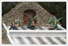 Каскад «Шахматная гора» в Петергофе.