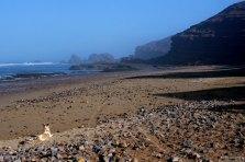 Пляж Legzira Beach.