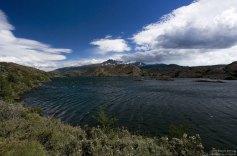 Рябь на озере Grey.