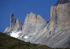 Осыпавшаяся скала рядом с Los Cuernos.