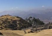 Фигура Христа на холме над Куско.