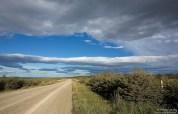 Дорога на север Патагонии.