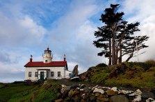 Маяк Battery Point Lighthouse.