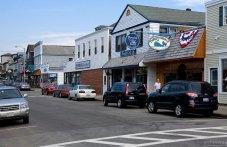 Главная улица в городе Bar Harbor.