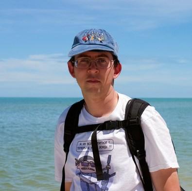 На пляже в Селестуне.