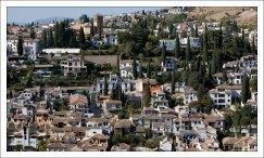 Гранада с высоты холма Сабика.