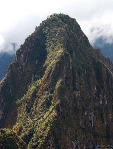 Уайна-Пикчу (кечуа Wayna Pikchu — «Молодая гора»). Высота 2701 метр.