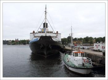 Пирс на острове Djurgården.