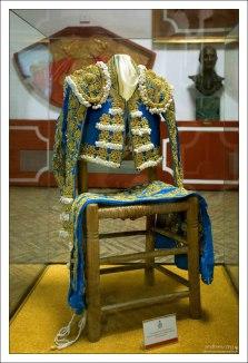 Traje de Luces - парадный костюм матадора. Музей корриды.
