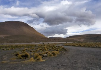 Дорога на El Tatio.