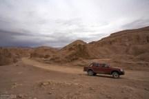 На въезде в Долину Марса, известную так же как Valle de la Muerte.