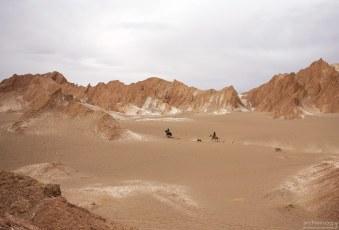 На лошадях по Марсовой долине.