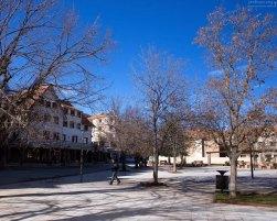 Сквер в городе Ifrane.