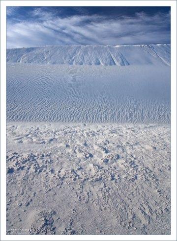 Три различные структуры песка.