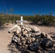 Могила местного жителя Jose de Leon, убитого в 1933-м году соседом. В Техасе дела решаются просто.