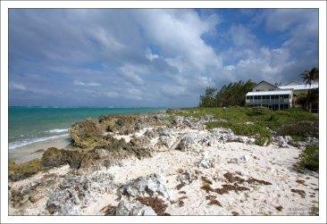 Пляжный домик на северной оконечности острова.