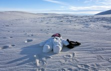 "Младенец на ""Северном полюсе"" :)"