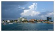Джорджтаун - столица Каймановых островов.