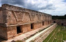 Северная часть Квадранта Монашек (Cuadrangulo de las Monjas). Ушмаль.