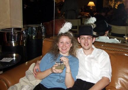 "Канун Нового Года в отеле ""Caesars Palace"". Лас-Вегас, Невада."