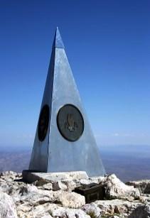 Top of Texas - вершина Техаса (2700 метров).