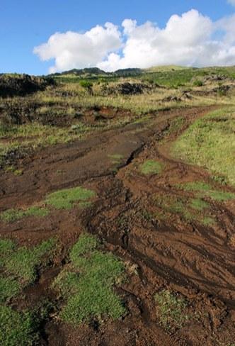 Kaupo Gap - расщелина на подветренных склонах вулкана Халеакала.